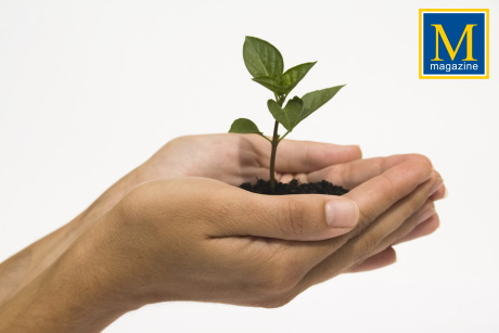How to Develop and Maintain a 'Green & Growing' Attitude - On Cover Article on MOTIVATION magazine by Ty Howard CEO of MOTIVATION